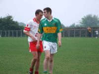 Lee Martin gave the Lamh Dearg defence a skelping